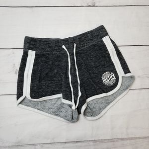 Justice Active Heathered Shorts